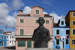 Terence Powling-Quiet Piazza (Venice)-9.5