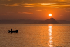 Frank Sandbach-Sunrise over St. Michael's Mount-9.5