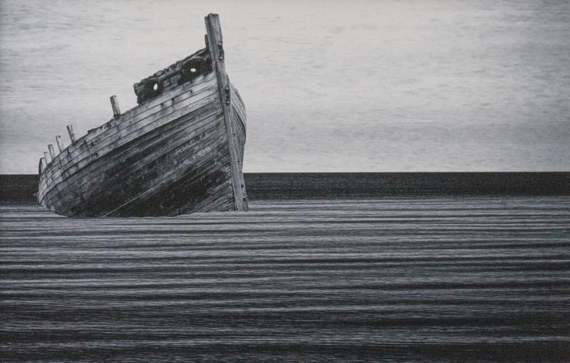 Tony Street-Stylised Image of Boat-10