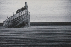 Tony Street-Stylised Image of Boat-10