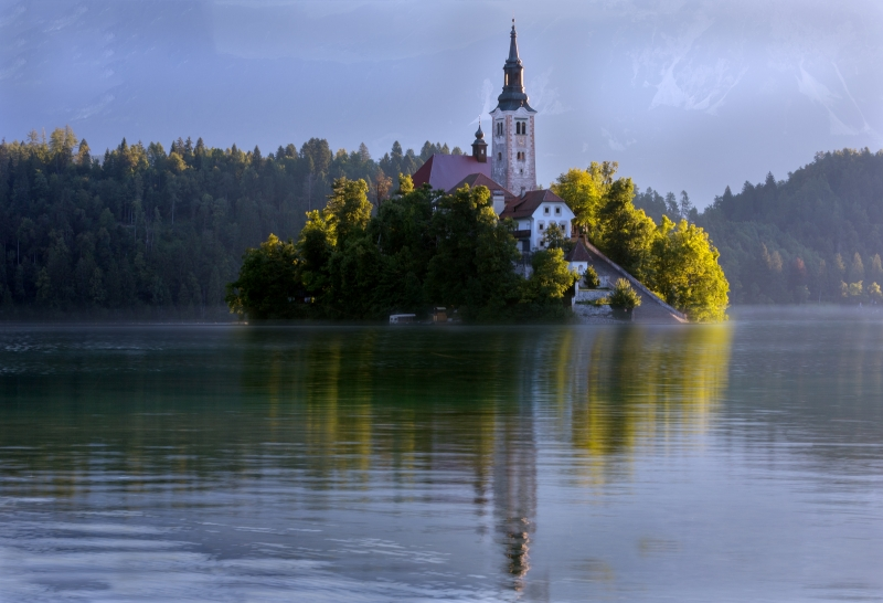 Peter_Rocchiccioli-Early-Morning-At-Lake-Bled-9
