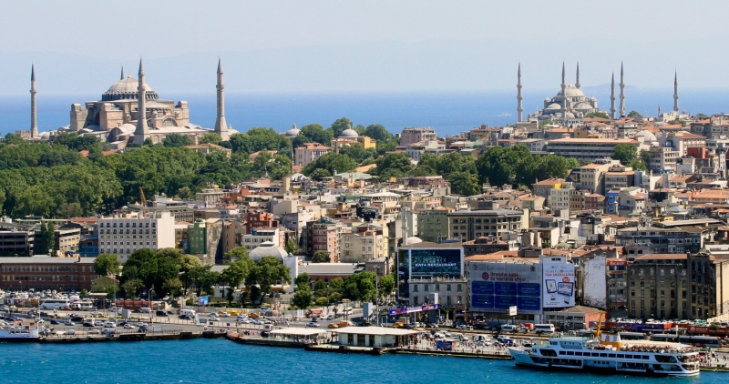Title:  The Golden Horn Istanbul