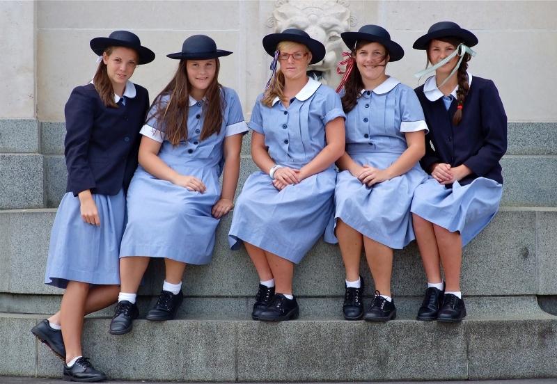 Auckland schoolgirls