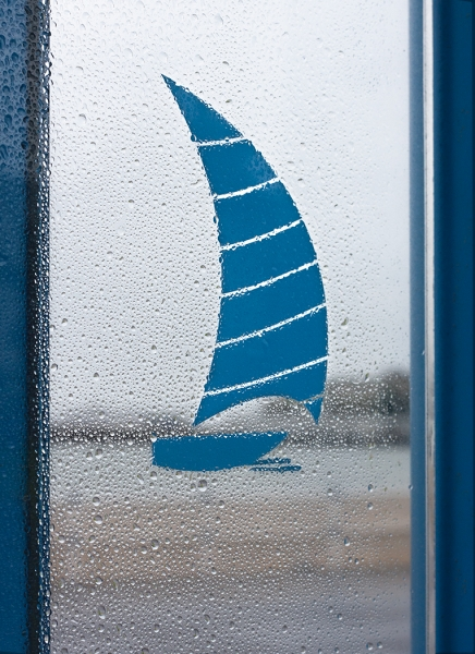 Linda Bullimore-Yacht in the Bus Shelter-9