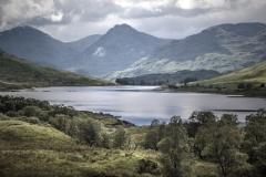 Joan Barham-Gathering Clouds over Loch Arklet-10